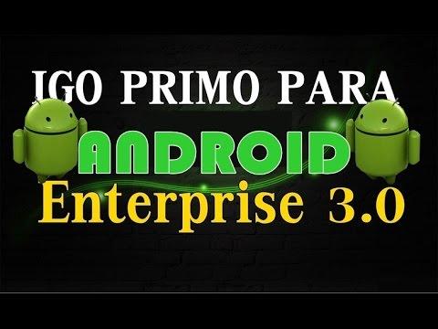 GPS Android iGO Primo GRÁTIS Off line ENTERPRISE 3.0