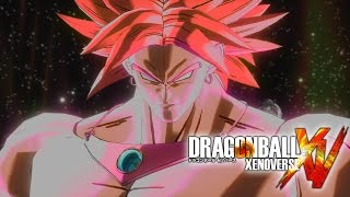 Super Saiyan God Broly Gameplay - Dragon Ball Xenoverse Mods ドラゴンボール ゼノバース