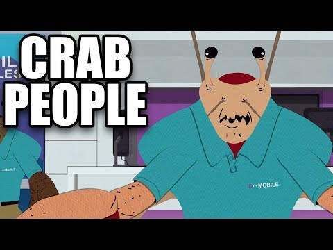 SOUTH PARK The Fractured But Whole - Fighting Crab People - Funny Scenes