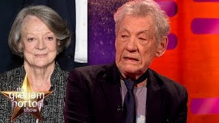 Sir Ian McKellen Does An Amazing Maggie Smith Impression - The Graham Norton Show
