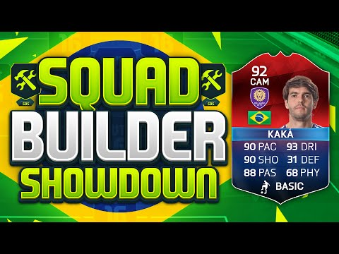FIFA 16 SQUAD BUILDER SHOWDOWN!!! LEGENDARY iMOTM KAKA!!! 92 Rated Kaka Squad Builder Duel