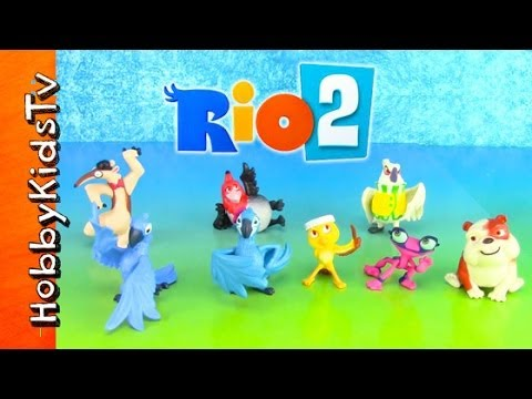 Giant Characters in Movies Rio 2 Movie Characters