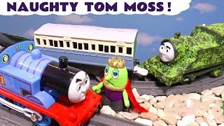 Thomas The Train and King Funling pranked by Tom Moss The Prank Engine & a dinosaur TT4U
