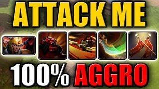 Double Taunt - Double Counter Ability [Berserker's Call + Duel + Counter Helix] Dota 2 Ability Draft
