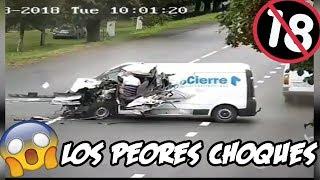 LOS ACCIDENTES Y CHOQUES DE AUTOS SEPTIEMBRE 2018 CRASH ACCIDENT 🚗 #2