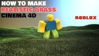 Download Lagu ROBLOX TUTORIAL - Creating Grass in Cinema 4d #7 Gratis STAFABAND