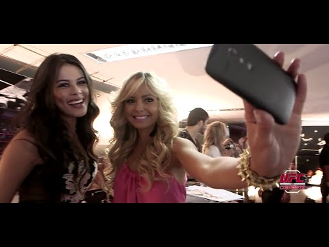 Camila e Jhenny mostram os bastidores do UFC179