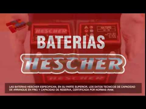 Baterías Hescher
