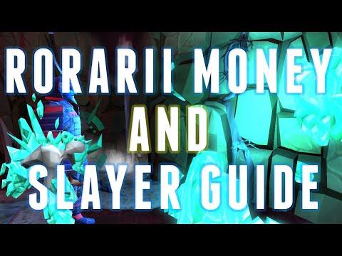 Runescape 3 – Rorarii Money Making Guide/Slayer 2015 – 2.5m GP/Hr