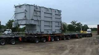 Heavy Hauling - ITC Midwest Transmission Company Perkins Vic's Heavy Hauling a 350,000# Transformer