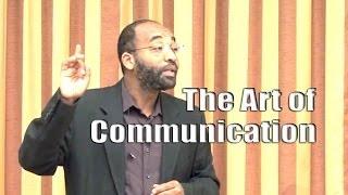 The Art of Communication – Yassir Fazaga