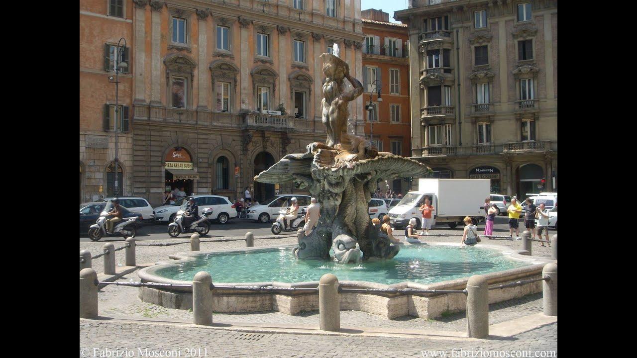 Roma Fontana Roma Fontana Del Tritone