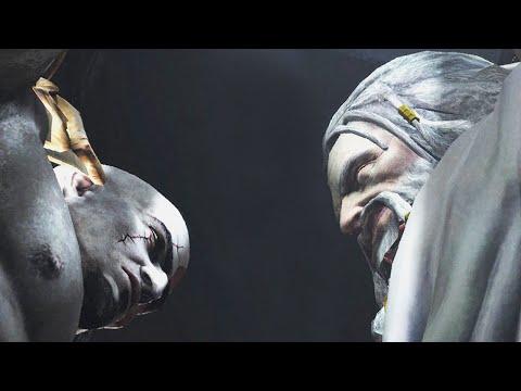 Resident Evil 4 UHD [GOW3 mod] - Kratos VS. Zeus Cutscene