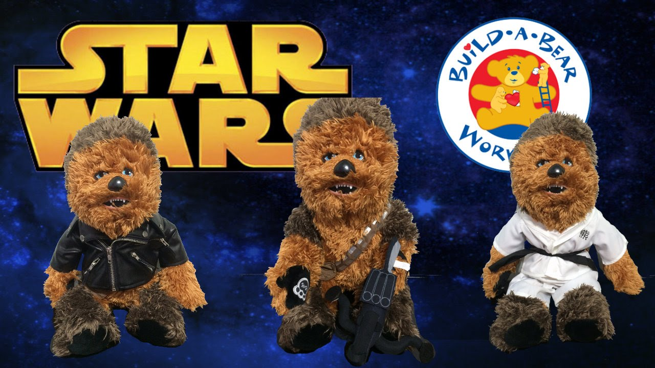 Star War Bears Star Wars Chewbacca Build a