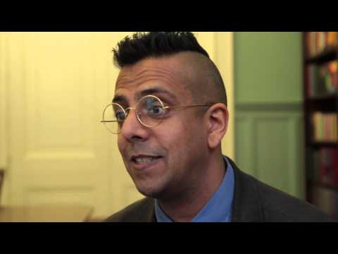 "Simon Singh discusses his book ""The Simpsons and Their Mathematical Secrets"""