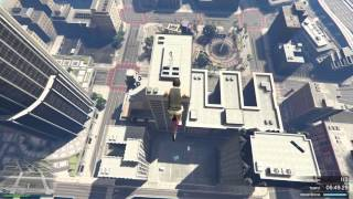 GTA V Corrida - BMX Go Up Building MAZE!