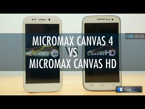 Micromax Canvas 4 A210 vs Micromax Canvas HD A116