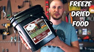 Survival Freeze Dried Food Taste Test