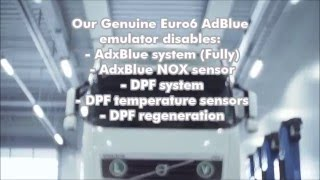 EURO6 AdxBlue emulators for trucks: professional and genuine from Galingas LT