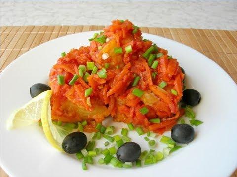 Попробуйте этот Рецепт Обязательно! Вкуснейшая Рыба под Маринадом