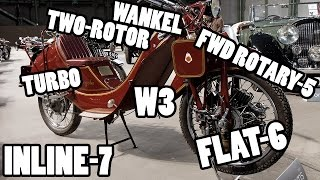 12 Unconventional Motorcycle Engines You May Not Know About | Ep. 2