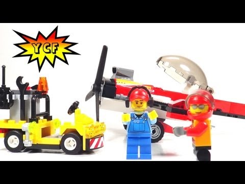 LEGO CITY Stunt Plane Review & Time Lapse - 2013 LEGO 60019