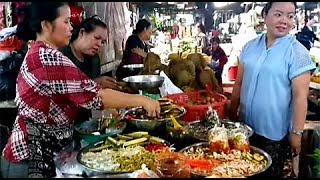 Toul TomPoung Market - Walk Around And Buy Some Country Foods - Popular Market