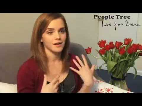 Emma Watson People Tree Collection. To celebrate Emma watson has