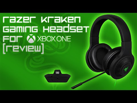 razer kraken gaming headset for xbox one review mic. Black Bedroom Furniture Sets. Home Design Ideas
