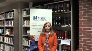 Monday Mornings with MSEC Featuring Jennifer England