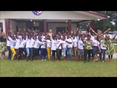 2016 GLOW Camp - Peace Corps Liberia