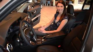 Camille introduces the 2013 Mercedes-Benz GLK 350