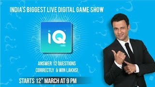 IQ Live : IQ Live app 2018 Contest ||How To Play IQ Live ||Live Quiz Game Show #IQ Trivia