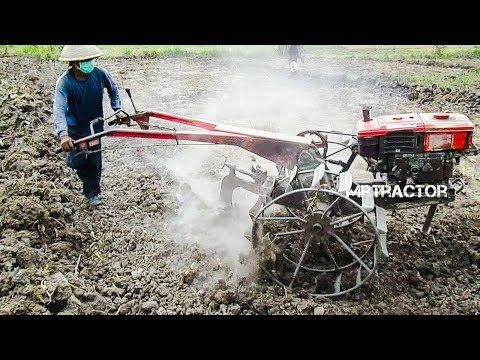 The Best Of Tractor Quick G1000 Boxer Working On Dry And Wet Dirt รถไถนาเดินตาม
