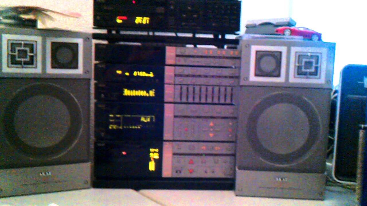 akai m7 clarity hifi system from the eighties youtube. Black Bedroom Furniture Sets. Home Design Ideas