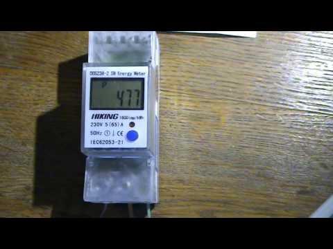 Цифровой счетчик с измерением реверсивной энергии и параметров сети.