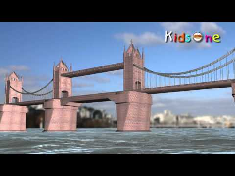 London Bridge Is Falling Down ||  Nursery Rhymes || English Animated Rhymes video