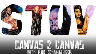 The ABCs of WWE: Seth Rollins, Tommaso Ciampa, The Undertaker & Zelina Vega – WWE Canvas 2 Canvas