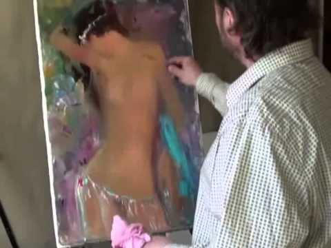 Russian Bob Ross - A woman's body, Erotic, Nude