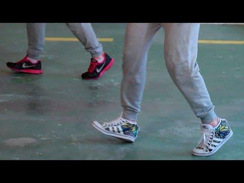 Pasos básicos de Hip Hop | Happy Feet