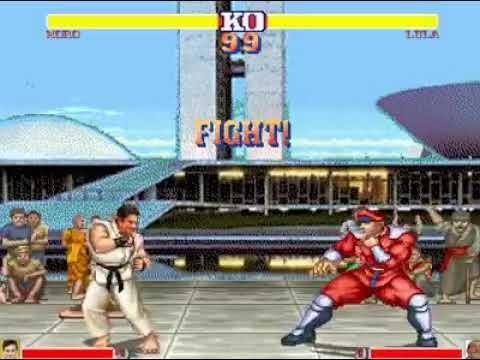 New Street Fighter-Sergio Moro Vs Lula