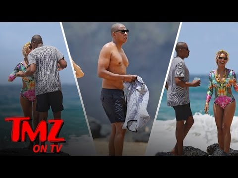 Jay Z Puts Dad Bod On Display (TMZ TV)