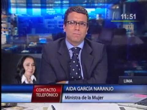 Ministra de la Mujer respondió a denuncia de intoxicación en Cajamarca