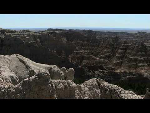 Tour of the Badlands in the Black Hills of South Dakota