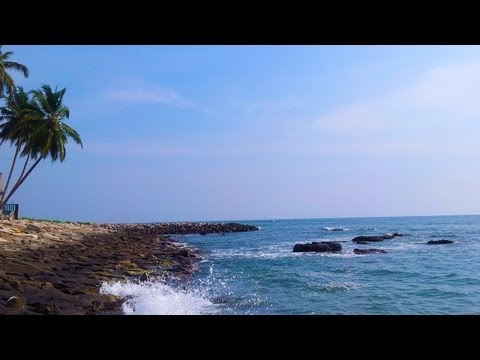 Thirumullavaram Morning Walk Beach Video Beach Near Kollam Kerala