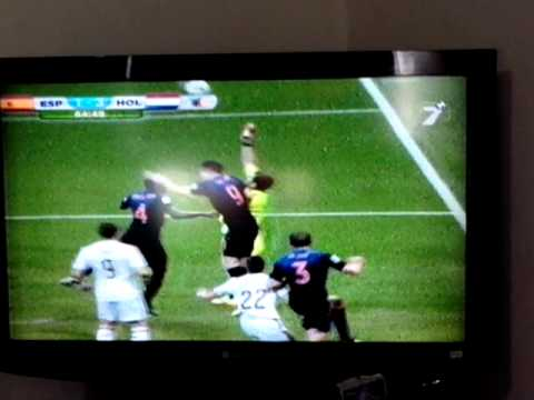 Tercer gol Holanda vs España Brasil 2014