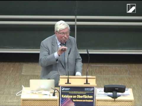 8. Lorenz-Kramer-Gedenkvorlesung - Vortrag von Nobelpreisträger Prof. Dr. Gerhard Ertl