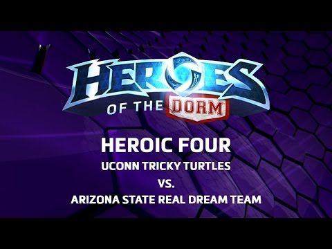 Heroes Of The Dorm 2016 - Heroic Four Match 2 -  UCONN Vs Arizona State