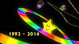 Mario Kart Series - All Rainbow Road Music / Themes 1992-2014