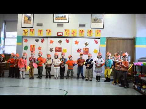 Park View Montessori Room 1 Thanksgiving Concert 2013